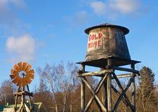 Νερό-πύργος Στοκ εικόνα με δικαίωμα ελεύθερης χρήσης