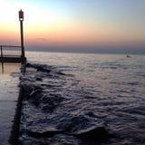 Νερό στους βράχους Στοκ φωτογραφία με δικαίωμα ελεύθερης χρήσης