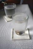 Νερό στο γυαλί Στοκ Φωτογραφίες