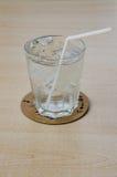 Νερό στο γυαλί Στοκ φωτογραφία με δικαίωμα ελεύθερης χρήσης