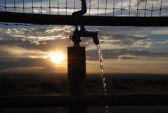 Νερό στο φρεάτιο Στοκ φωτογραφίες με δικαίωμα ελεύθερης χρήσης