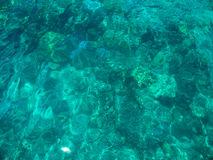 Νερό της θάλασσας κρυστάλλου Στοκ φωτογραφία με δικαίωμα ελεύθερης χρήσης