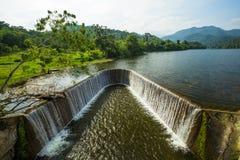 Νερό φραγμάτων στοκ εικόνες με δικαίωμα ελεύθερης χρήσης