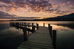 Νερό Coniston Στοκ Φωτογραφία