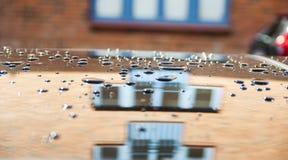 Νερό Droples Στοκ εικόνες με δικαίωμα ελεύθερης χρήσης