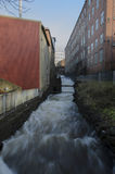 Νερό Rushimg Στοκ εικόνες με δικαίωμα ελεύθερης χρήσης
