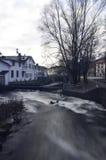 Νερό Rushimg Στοκ φωτογραφία με δικαίωμα ελεύθερης χρήσης