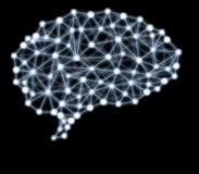 Νευρικά δίκτυα Στοκ φωτογραφία με δικαίωμα ελεύθερης χρήσης