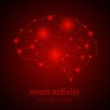 Νευρο δραστηριότητα 1 Στοκ Εικόνες