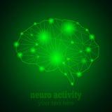 Νευρο δραστηριότητα 1 Στοκ Εικόνα