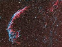 Νεφέλωμα πέπλων NGC 6992 Στοκ εικόνες με δικαίωμα ελεύθερης χρήσης