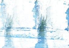 Νεφελώδες έγγραφο watercolor κρέμας μεντών Στοκ Εικόνες
