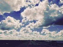 Νεφελώδες ταξίδι στοκ εικόνες με δικαίωμα ελεύθερης χρήσης