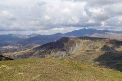 Νεφελώδης άποψη Snowdon στοκ φωτογραφία