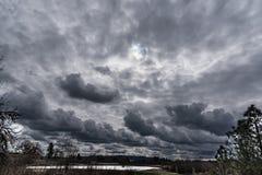 νεφελώδης ημέρα Στοκ φωτογραφίες με δικαίωμα ελεύθερης χρήσης
