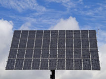 νεφελώδης ισχύς ηλιακή Στοκ φωτογραφίες με δικαίωμα ελεύθερης χρήσης