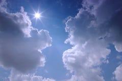 νεφελώδης ουρανός στοκ εικόνα με δικαίωμα ελεύθερης χρήσης