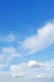 νεφελώδης ουρανός Στοκ Εικόνες