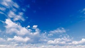 Νεφελώδες αφηρημένο υπόβαθρο μπλε ουρανού, τρισδιάστατη απεικόνιση Στοκ φωτογραφία με δικαίωμα ελεύθερης χρήσης