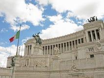 Νεφελώδες ρωμαϊκό Vittoriano Στοκ εικόνα με δικαίωμα ελεύθερης χρήσης