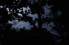 νεφελώδες φεγγάρι Στοκ Φωτογραφίες