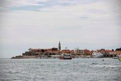 Νεφελώδης ημέρα στο Μαυροβούνιο Στοκ Εικόνες