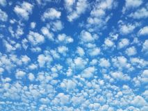 Νεφελώδης θερινή ημέρα Στοκ Εικόνες
