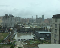 Νεφελώδης ορίζοντας στην Ταϊβάν Στοκ φωτογραφία με δικαίωμα ελεύθερης χρήσης