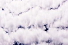 Νεφελώδης ουρανός άνοιξη Στοκ εικόνα με δικαίωμα ελεύθερης χρήσης