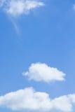 νεφελώδης ουρανός πρωινού Στοκ εικόνα με δικαίωμα ελεύθερης χρήσης