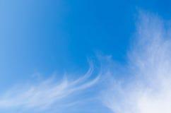 Νεφελώδης ουρανός το χειμώνα Στοκ Εικόνες