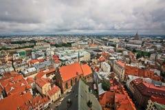 Νεφελώδης Ρήγα Στοκ φωτογραφία με δικαίωμα ελεύθερης χρήσης