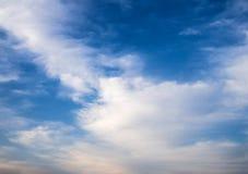 Νεφελώδης σύσταση ουρανού Στοκ εικόνες με δικαίωμα ελεύθερης χρήσης