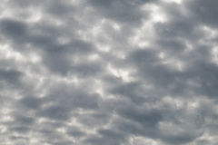 Νεφελώδης σύσταση ουρανού Στοκ Εικόνα