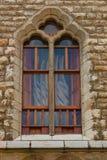 Νεωτεριστικό παράθυρο της Νίκαιας από Gaudà στην πόλη του Leon Στοκ Εικόνες