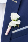 Νεόνυμφος στο κοστούμι και νύφη στο γαμήλιο φόρεμα στοκ φωτογραφία με δικαίωμα ελεύθερης χρήσης