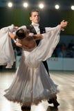 νεώτερος χορού ζευγών Στοκ Εικόνα