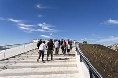 Νεώτερο μουσείο της Λισσαβώνας στοκ εικόνες