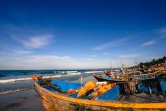 ΝΕ Fishingboats Mui στοκ εικόνα