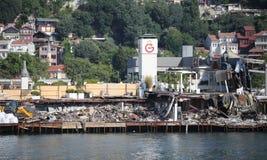Νησάκι της Γκαλατάσαραϊ στη Ιστανμπούλ Στοκ εικόνες με δικαίωμα ελεύθερης χρήσης