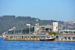 Νησάκι της Γκαλατάσαραϊ στη Ιστανμπούλ, Τουρκία Στοκ Φωτογραφίες