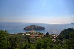 Νησάκι του Stefan Sveti Στοκ φωτογραφίες με δικαίωμα ελεύθερης χρήσης