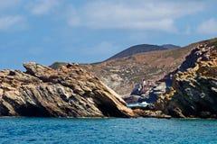 νησί Άνδρου Ελλάδα Στοκ Φωτογραφία