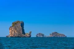 Νησί ατόμων AO Nang Στοκ εικόνα με δικαίωμα ελεύθερης χρήσης