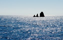 Νησί ερήμων. Στοκ φωτογραφία με δικαίωμα ελεύθερης χρήσης