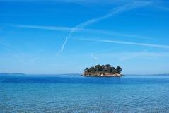 νησί ερήμων Στοκ Εικόνα