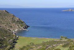 Νησί Ελλάδα Patmos Στοκ φωτογραφία με δικαίωμα ελεύθερης χρήσης