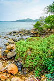 Νησί θάλασσας Στοκ Εικόνες