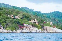 Νησί διακοπών Nang Yuan Kho Koh Tao, Ταϊλάνδη Στοκ εικόνες με δικαίωμα ελεύθερης χρήσης