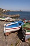 νησί Ιταλία βαρκών πλησίον Στοκ Εικόνες